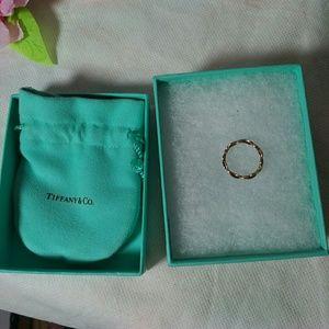 Authentic Tiffany Eternity Band size 5